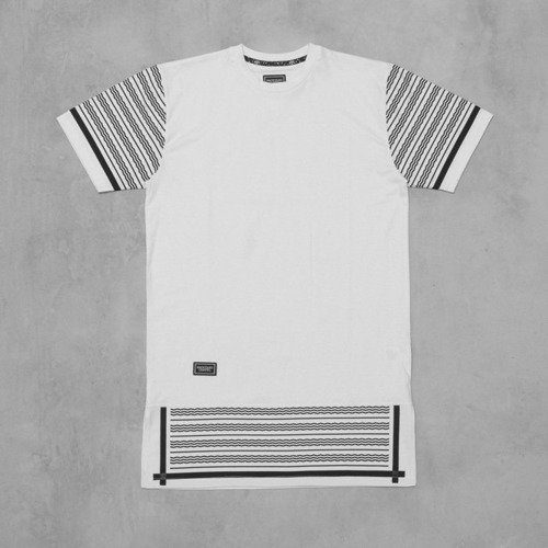Backyard Cartel t-shirt KEFIJA Long white