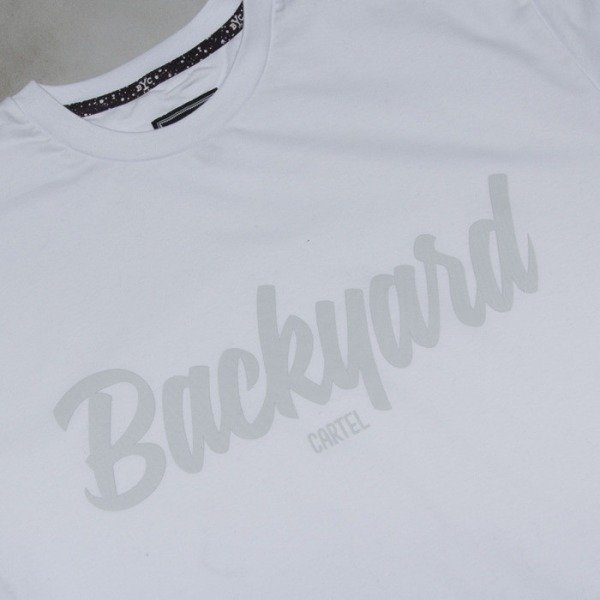 Backyard Cartel t-shirt Neat White