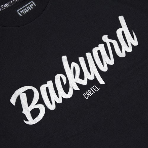 Backyard Cartel t-shirt Neat black