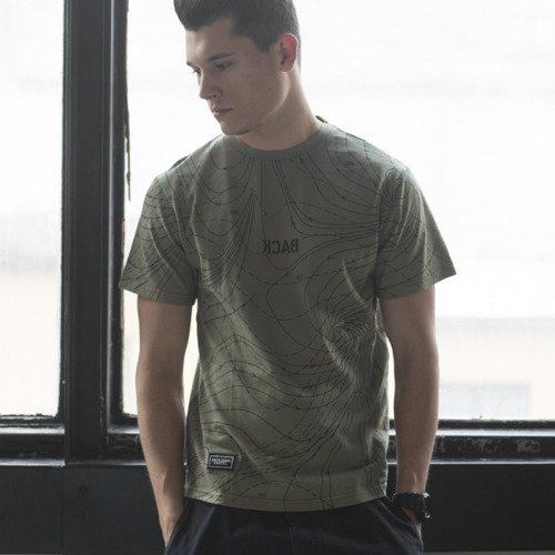 Backyard Cartel t-shirt Nowhere khaki