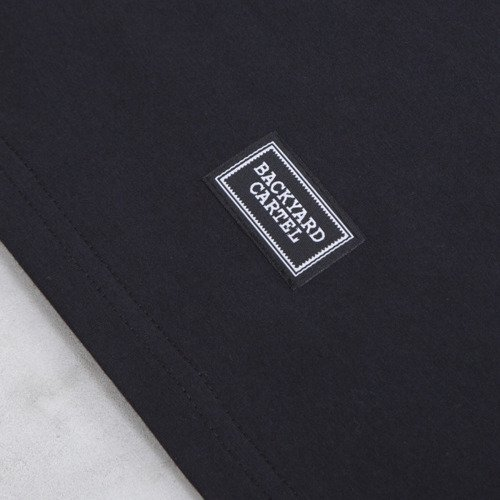 Backyard Cartel t-shirt Point black
