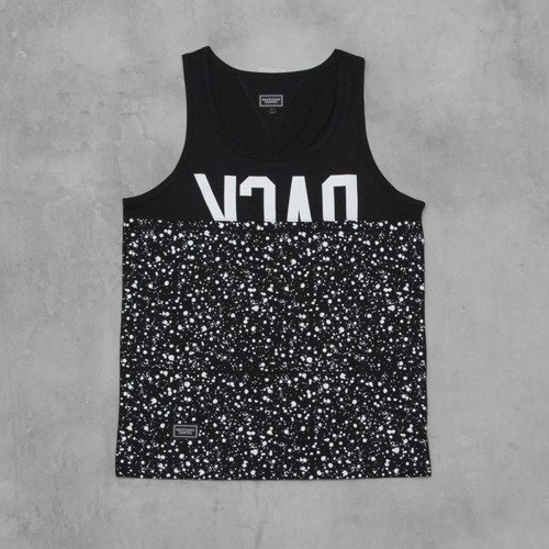 Backyard Cartel t-shirt Splash Half tank-top black