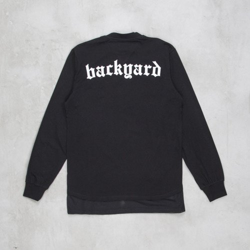 Backyard Cartel t-shirt Why Long longsleeve black