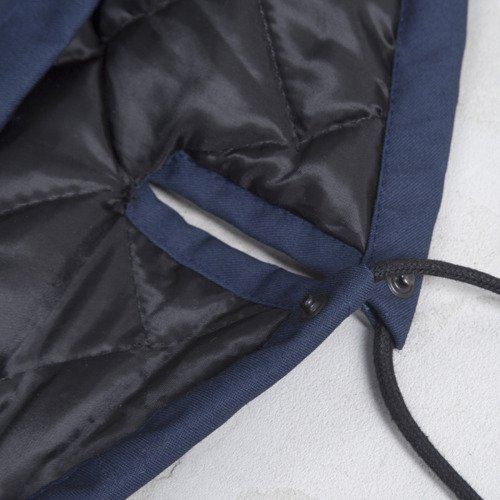 Backyard Cartel winter jacket Parka Long long fit navy