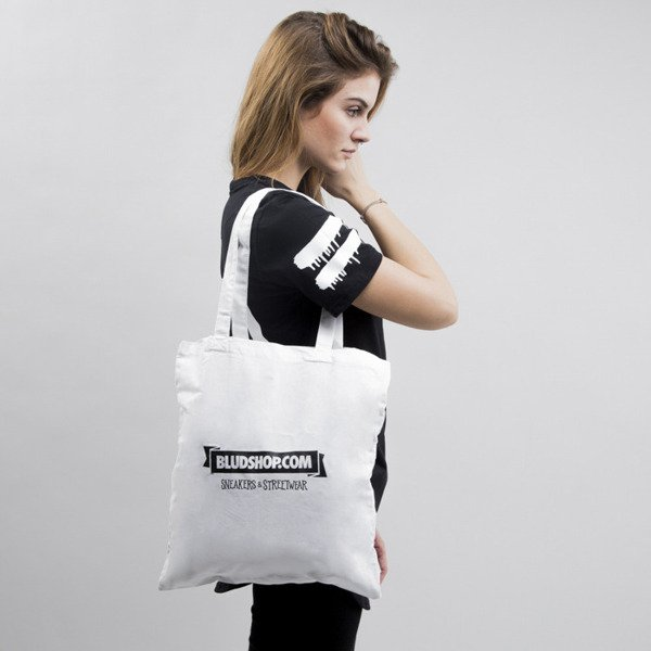 Blud bag Logo white WMNS