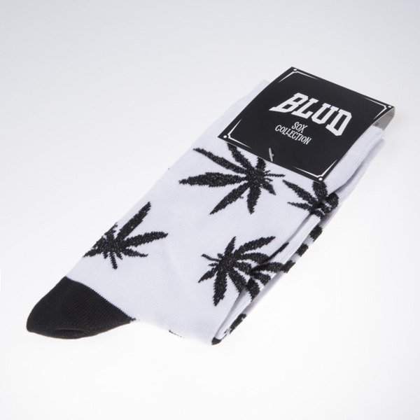 Blud socks Kush quarter white