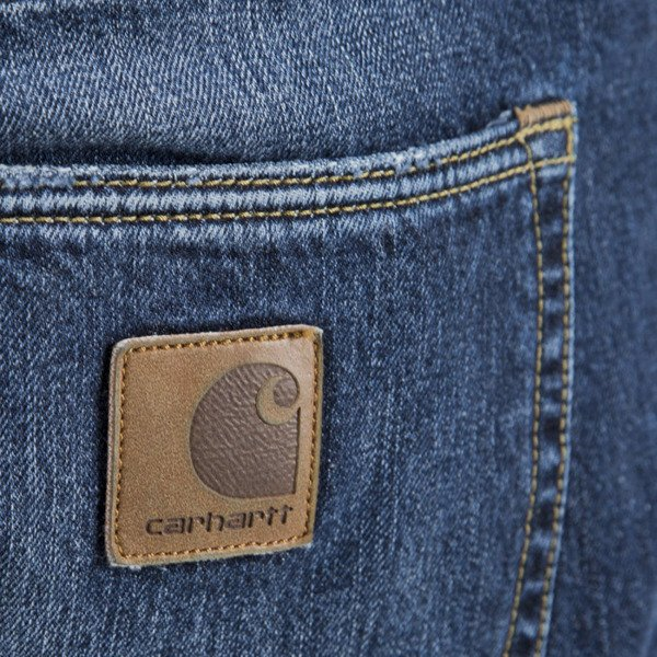 Carhartt WIP Buccaneer Pant Hanford Cotton blue denim strand washed