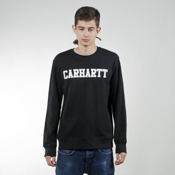 Carhartt WIP College Sweat black / white