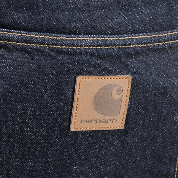 Carhartt WIP Klondike Pant Hanford Cotton blue rinsed