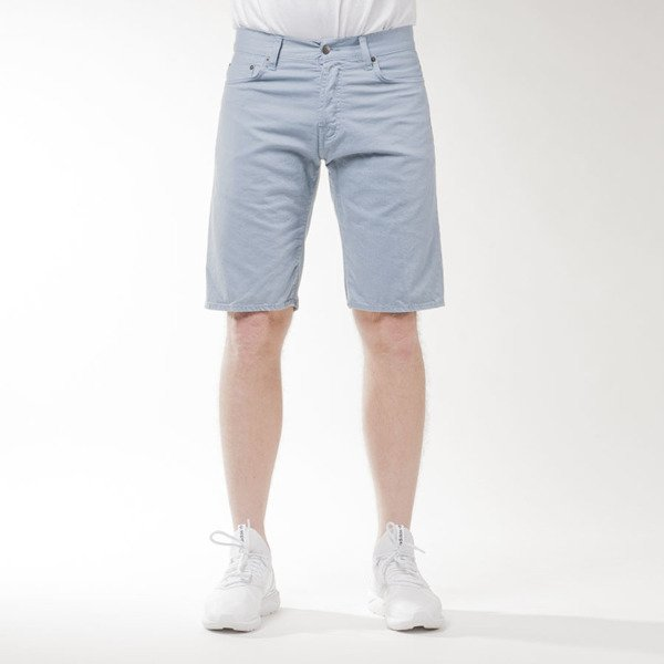 Carhartt WIP Klondike Shorts II Alabama ice rinsed