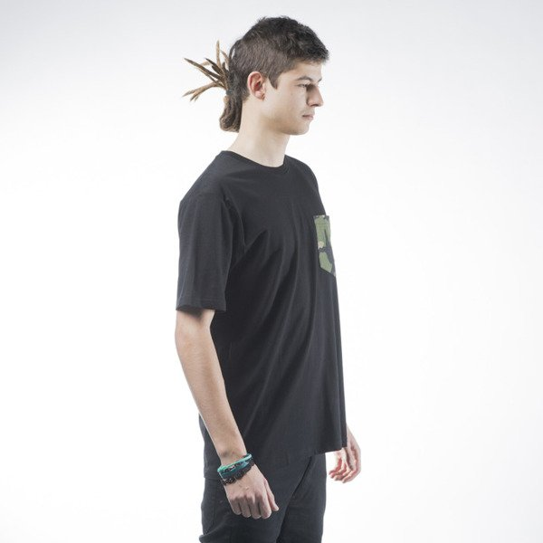 Carhartt WIP Lester Pocket T-shirt black / camo 313
