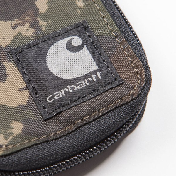 Carhartt WIP Robertson Wallet camo painted / green