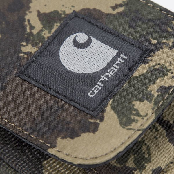 Carhartt WIP Small Bag camo painted / green