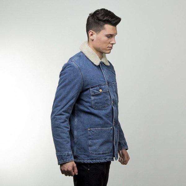 Carhartt WIP jacket Phoenix Coat blue stone washed ...