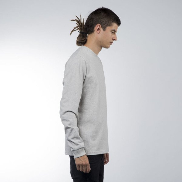 Carhartt WIP longsleeve College Left snow heather / chianti