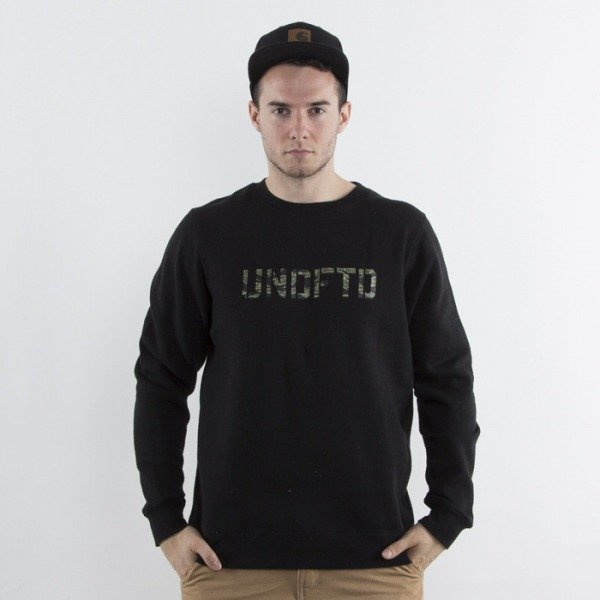 Carhartt bluza College crewneck black / white