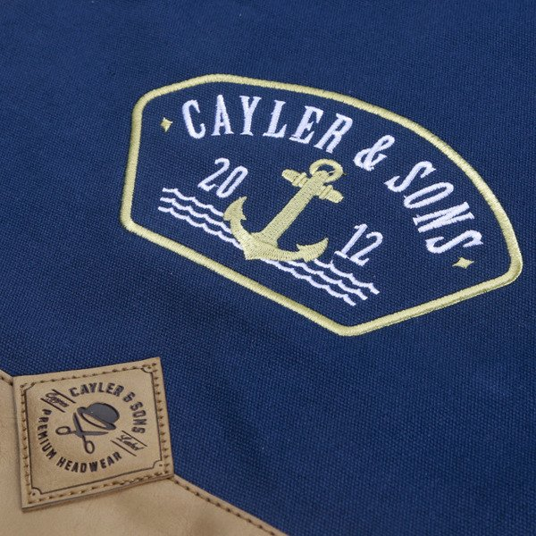 Cayler & Sons Ahoi Gymbag navy / gold CL-CAY-AW16-GB-03