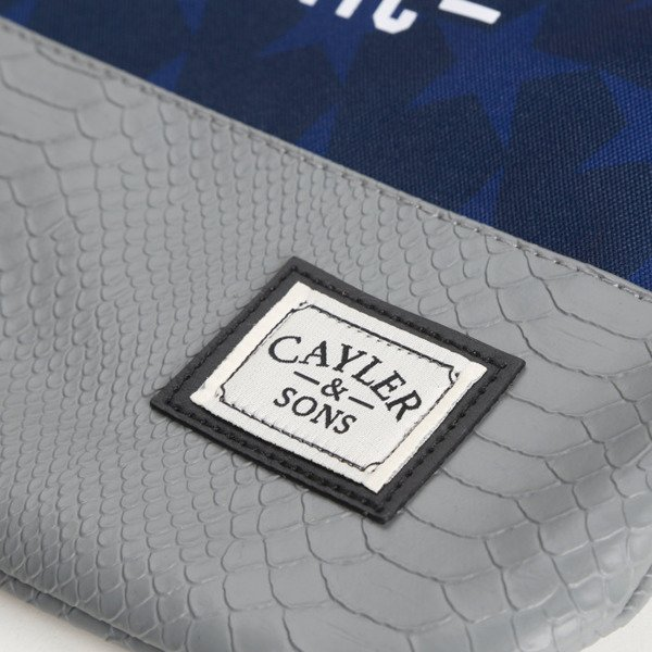 Cayler & Sons BK Salute Gymbag navy / grey / mc WL-CAY-AW16-GB-09