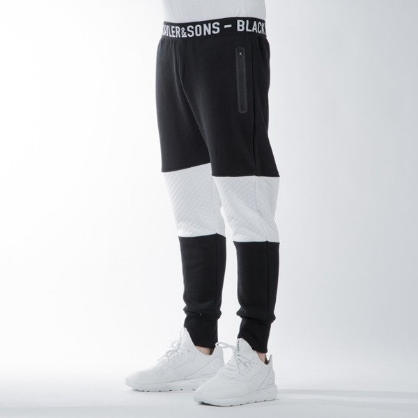 Cayler & Sons BL Ace Low Crotch Sweat Pants black / white (BL-CAY-SS16-AP-34)
