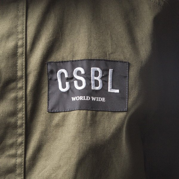 Cayler & Sons BL CSBL Army Parka green / red checked (BL-CAY-SS16-AP-01)