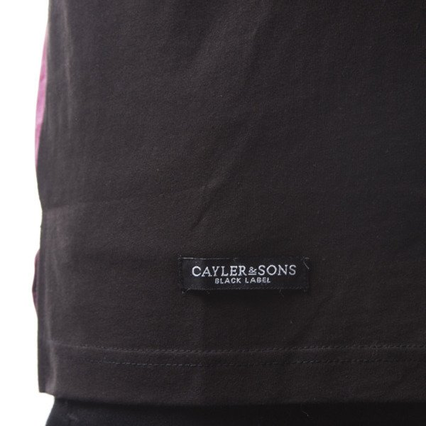 Cayler & Sons BL Elevate Long Tee black / maroon mc (BL-CAY-SS16-AP-24)