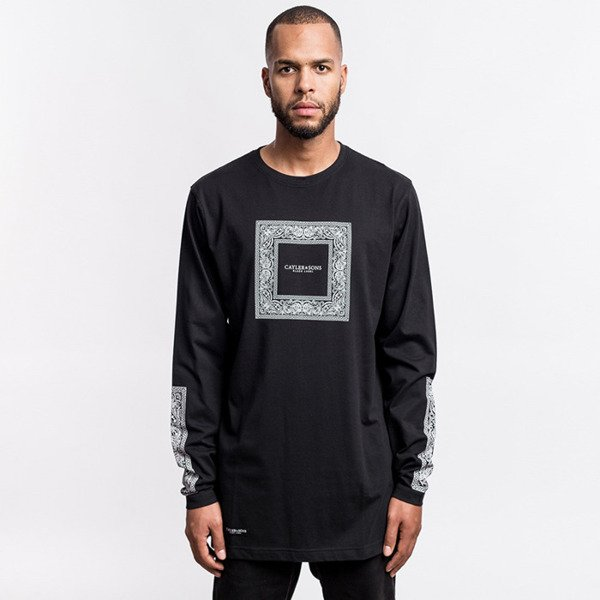 Cayler & Sons BLACK LABEL Paiz Longsleeve black / white BL-CAY-AW16-AP-21-01
