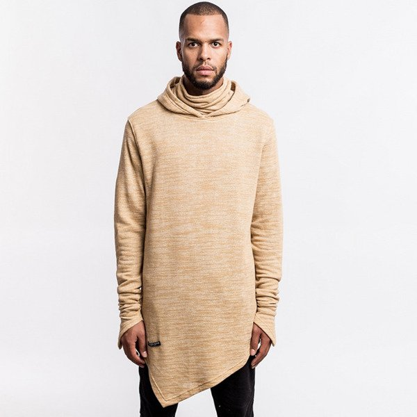 Cayler & Sons BLACK LABEL sweatshirt Severoz Hoody sand / white BL-CAY-AW16-AP-11-02