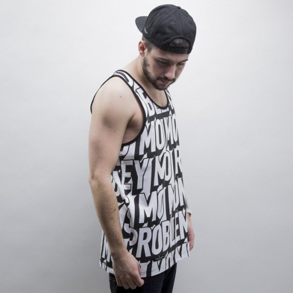 Cayler & Sons BLACK LABEL tank top Mo Money black / white (CAY-SS15-AP-17-01)