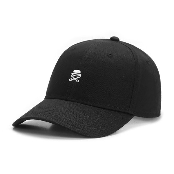 Cayler & Sons Birdie Curved Cap black / white BL-CAY-Q4-CRVD-01-01