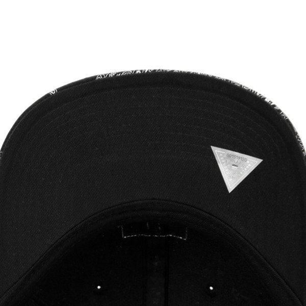 Cayler & Sons Black Label  Paiz Curved Cap black / white BL-CAY-Q4-CRVD-01-02