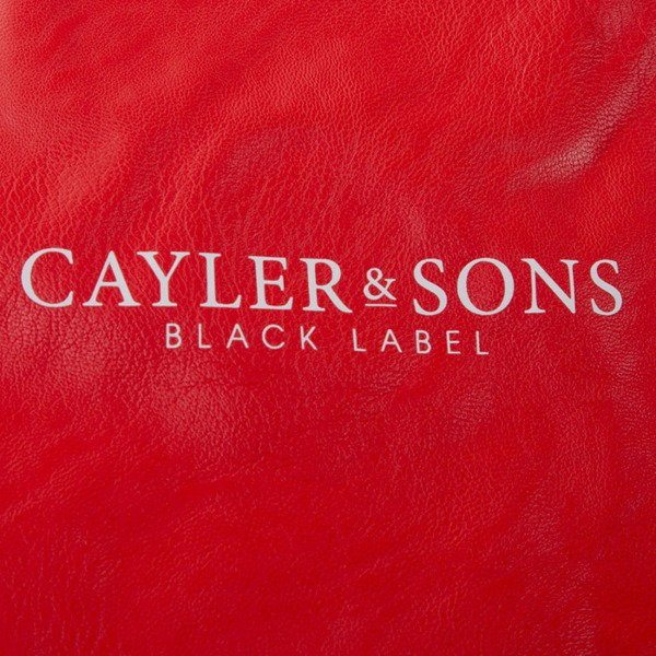 Cayler & Sons Black Label Paiz Gymbag red / white (BL-CAY-SS16-GB-05-02)