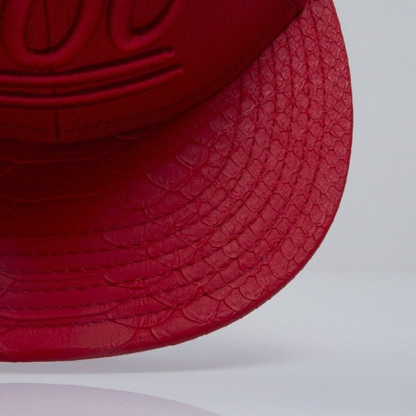 Cayler & Sons Black Label cap snapback 3 Hunna red (BL-CAY-SS15-10-01)