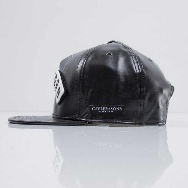 Cayler & Sons Black Label cap snapback Allday black / white (BL-CAY-SS15-02-01)
