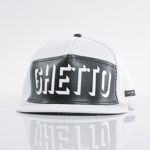 Cayler & Sons Black Label cap snapback Ghetto Paradise white / black (BL-CAY-AW15-08-OS)