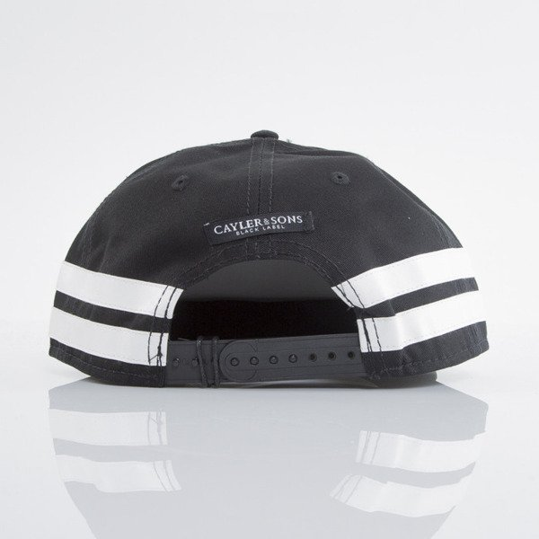 Cayler & Sons Black Label cap snapback Tres Slick black / white (BL-CAY-AW15-15-01-OS)