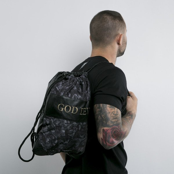 Cayler & Sons Black Label gym bag God Level black / gold (BL-CAY-AW15-GB-02-OS)