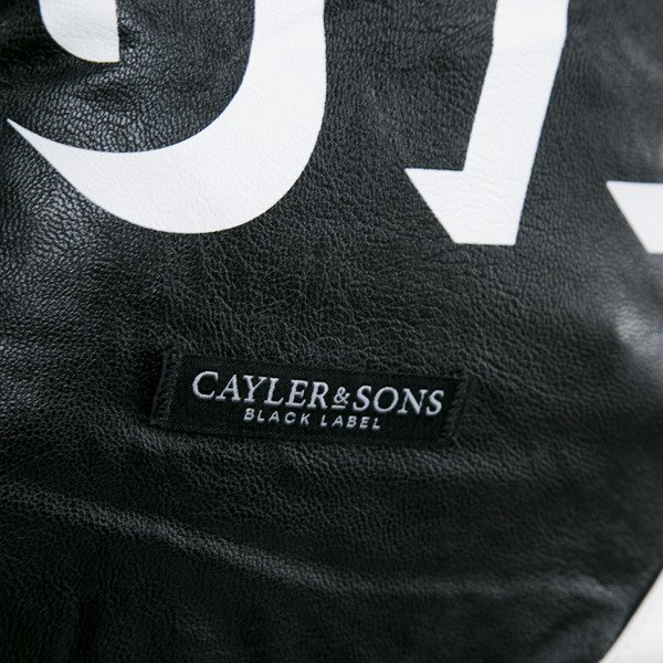 Cayler & Sons Black Label gym bag Hood Love 2.0 black / white (BL-CAY-AW15-GB-01-OS)