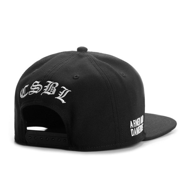 Cayler & Sons Black Label snapback Chief Cap black / white BL-CAY-AW16-06