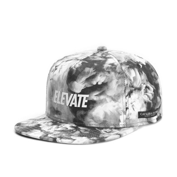 Cayler & Sons Black Label snapback Elevate Cap black / mc / white (BL-CAY-SS16-08-02)