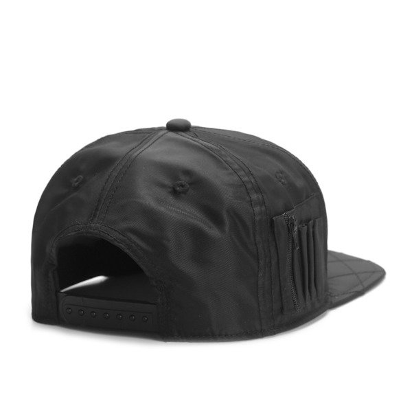 Cayler & Sons Black Label snapback Flight Cap black / orange (BL-CAY-SS16-12-02)