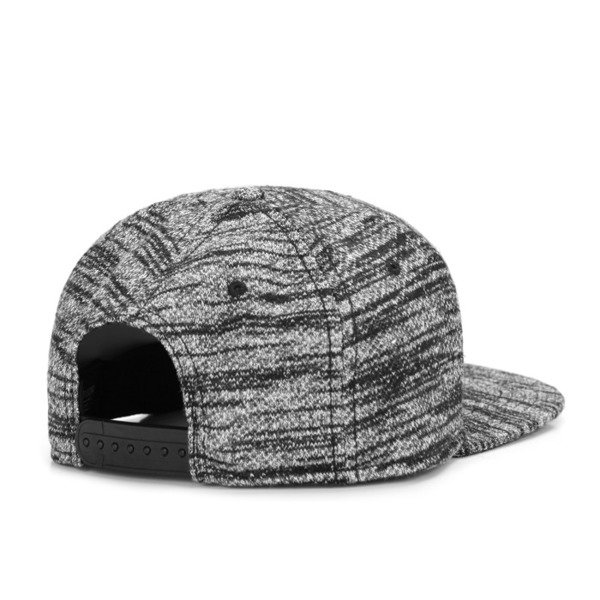 Cayler & Sons Black Label snapback Plated Cap black-grey knit BL-CAY-AW16-17