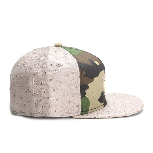 Cayler & Sons Black Label snapback Plated Cap woodland / sand ostrich (BL-CAY-SS16-01)