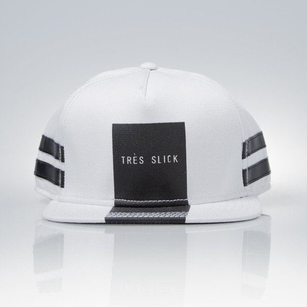 Cayler & Sons Black Label snapback Tres Slick Cap white / black (BL-CAY-AW15-15-04)