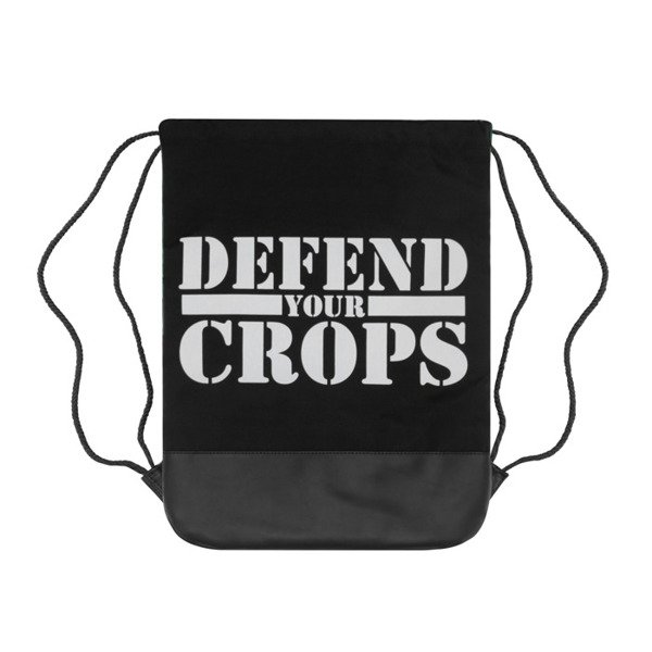 Cayler & Sons Defend Your Crops Gymbag green leaves / black GL-CAY-AW16-GB-01