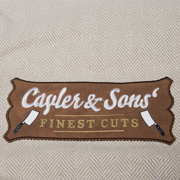 Cayler & Sons Finest Cuts Gymbag sand / brown / white CL-CAY-SU16-GB-01