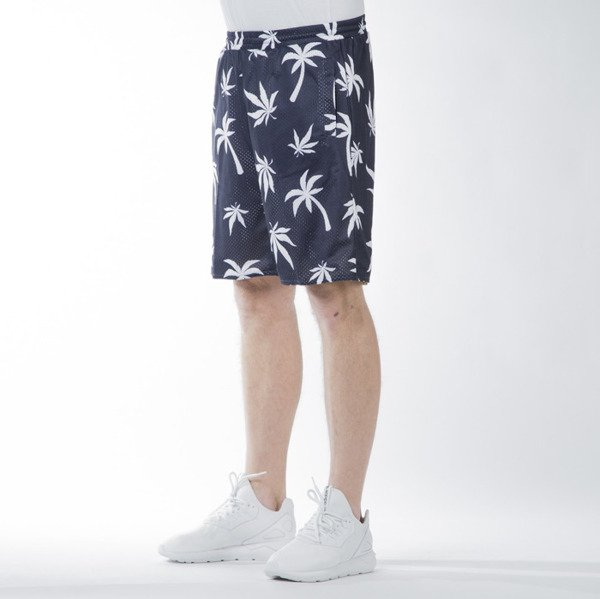 Cayler & Sons GL Beach Budz Reversible Mesh Shorts navy / white // pale yellow / navy (GL-CAY-SS16-AP-33-01)
