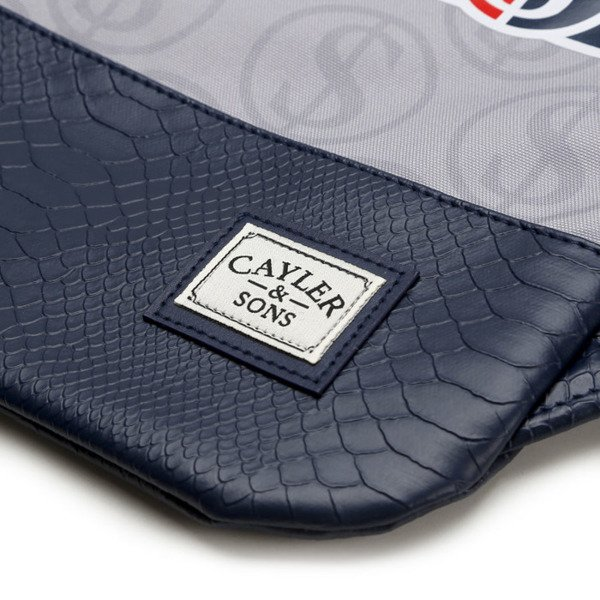 Cayler & Sons Get It Gymbag grey / navy / red WL-CAY-SU16-GB-01