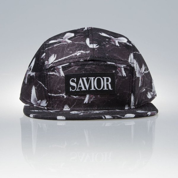 Cayler & Sons Gold Label Savior  5panel Cap  black / marble / white (WL-CAY-SS16-31)