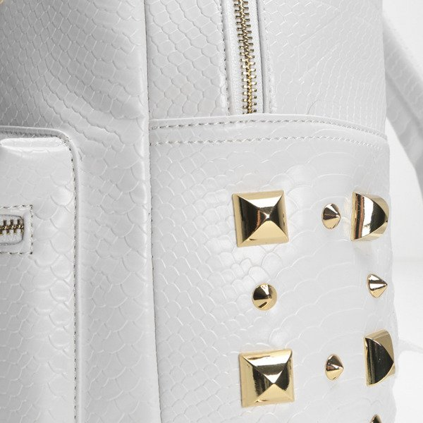 Cayler & Sons Gold Label backpack Upgrade Backpack white python / gold (GLD-CAY-SS16-BP-02-03)