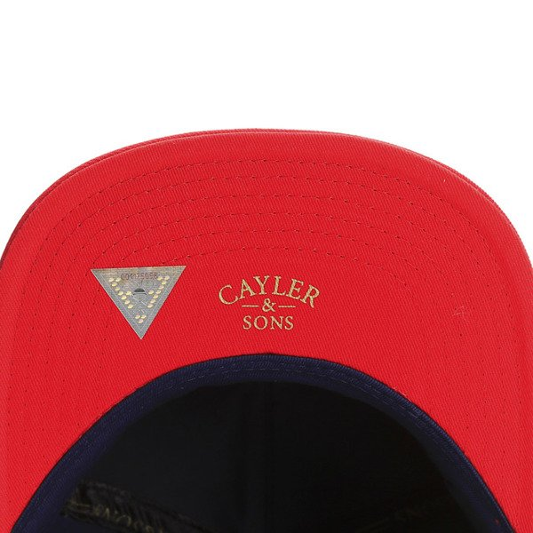 Cayler & Sons Gold Label snapback Anchorman Cap navy / red / white (GLD-CAY-SS16-10)